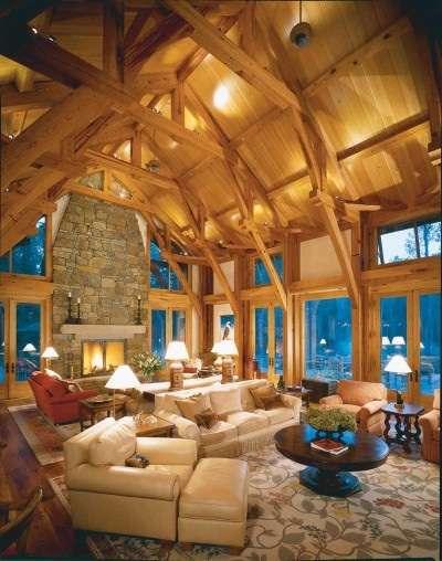 Декор для деревянных интерьеров 44